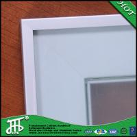 Quality Modern kitchen cupboard glass doors china glass door metal frame door and window for sale