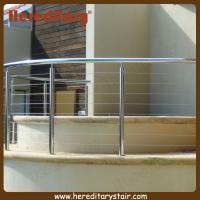 Wholesale Stainless Steel Curved Wire Balustrade Fixed Around SPA Area (SJ-681) from china suppliers