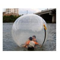Wholesale Exciting Inflatable Water Rolling Ball , Water Splash Ball For Adults N Children from china suppliers