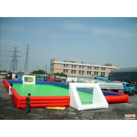 Wholesale Indoor Sporting Inflatable Soccer Field Inflatable Soap Soccer Field from china suppliers