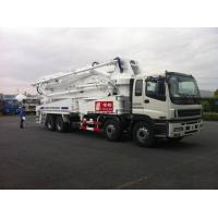 Wholesale 8x4 SSAB Steel ISUZU 47m Truck Mounted Concrete Pump / Delivery Equipment 390HP from china suppliers
