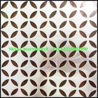 Wholesale Aluminum perforated sheet/perforated sheet manufactures/perforated aluminum sheet from china suppliers
