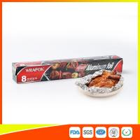 Wholesale Aluminium Paper Backed Foil For Food Packaging , Aluminum Wrapping Paper from china suppliers