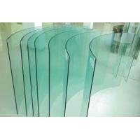 Wholesale 4 - 19mm thickness toughened low iron architectural curved tempered glass from china suppliers