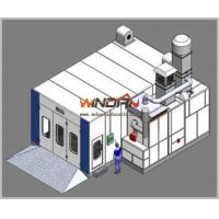 Wholesale 70mm Thick Panel Down Draft Spray Booth , Paint Booths For Car WD-907 from china suppliers