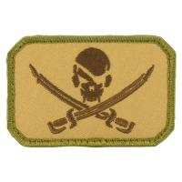 Wholesale Pirate Skull & Swords USA Army Badge Velcro Patch from china suppliers