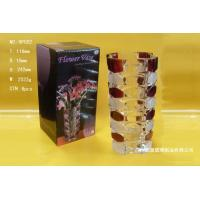Wholesale printing, sandblasting, decal painting color Personalized Glass Vase / Vases from china suppliers