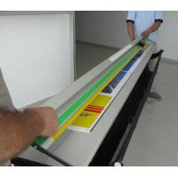 Wholesale 48'' manual gliding paper cutter with automatic paperweight from china suppliers