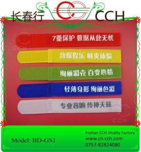 Silk printing velcro fasteners