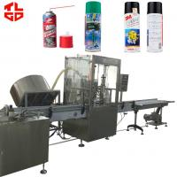 Wholesale Anti Rust Spray / Mould Release Automatic Aerosol Filling Machine 316 Stainless Steel from china suppliers