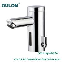Wholesale OULON Solar Powered Electronic Hand Washing Faucet Leo1105DC&AC from china suppliers
