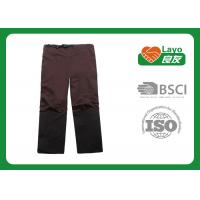 Wholesale Detachable Quick Dry Pants For Men Brown / Black Color Available from china suppliers