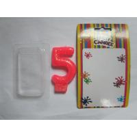 Wholesale Smokeless Number Birthday Candles With Golden Glitter Powder On The Surface from china suppliers