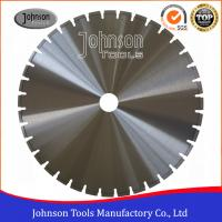 Wholesale 600mm Laser Wall Saw Blades , Reinforced Concrete Cutting Saw Blade from china suppliers