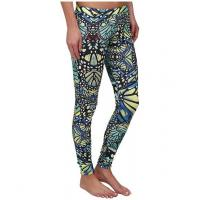 Quality Originals Butterfly Colorful Hot Yoga Clothes  , Custom Full Sublimated Leggings for sale