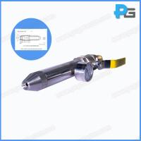 Wholesale IPX5 hand held 6.3mm jet nozzle with handle according to IEC60529 made by stainless steel from china suppliers