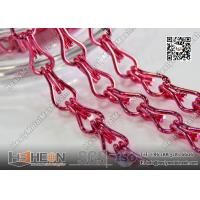 Wholesale Pink Color Aluminum Mesh Chain Fly Screen for Architectural Decorative Curtain from china suppliers