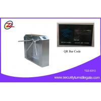 Wholesale Electronic Stainless Steel Turnstiles , Ticket Management Speed Gates With Rfid System from china suppliers