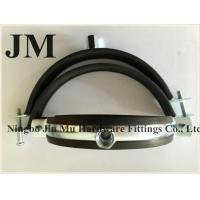 Quality Customized Thickness Standard Rubber Pipe Clamp OEM / Neutral Packing for sale