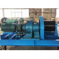 Wholesale Heavy duty material lifting diesel engine powered steel wire rope winch from china suppliers