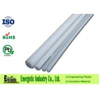 Wholesale Food Safe Extruded PP Rod for Machine Fittings , White Polypropylene Tube from china suppliers