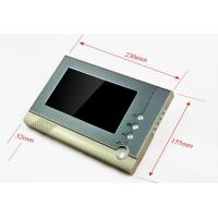 Wholesale CK80 Metal case 7 inch color TFT LCD screen intercom system night vision with CMOS camera video door phone for villa from china suppliers