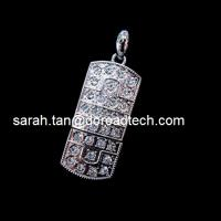 Wholesale Jewelry USB Flash Disks, 100% Original and New Memory Chip from china suppliers