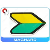 Buy cheap Beginner Japan Magnetic Car Signs Mark / Personalised Fridge Magnets from wholesalers