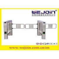 Anti-collision Automatic Turnstile Gates with Stainless Steel Housing and 900mm Arm