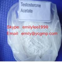 Buy cheap CAS NO 1045-69-8 Testosterone Steroid Hormone Powder Test Acetate Injectable Liquid from wholesalers
