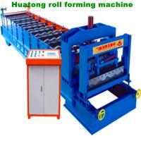 Wholesale Circle Arc Glazed Tile Roll Forming Machine Heat Treatment , HT 28-207-828 from china suppliers