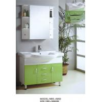 Wholesale High quality mirrored bathroom cabinet witn sink , 100 X 56 X 85 / cm bathroom washbasin cabinet from china suppliers