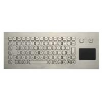 Wholesale 85 Keys Washable Ruggedized Keyboard , Stainless Steel Keyboard With Touchpad from china suppliers