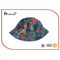 Wholesale Cotton colourful reversible print fisherman bucket hat for children , flower print bucket hat from china suppliers