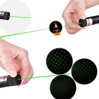 Quality Safety Key High Power Laser Pointer 303 532nm 100mw With Visible Green Laser Beam for sale