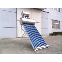 Wholesale 304 Stainless Steel Non Pressurized Solar Water Heater 100L With Feeding Tank Reflectors from china suppliers