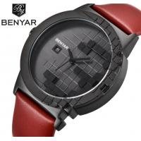 China BENYAR BY-5117 Men Leather Strap 3 ATM Waterproof Fashion Sport Watches for sale