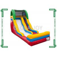 Wholesale Huge PVC Tarpaulin Inflatable Slide , Big Water Park Slides For Rent from china suppliers