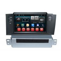 Wholesale Car Infor Citroen DVD Player C4L Android GPS Navigation with Rear view Camera from china suppliers