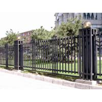 Wholesale outdoor and antirust wrought iron fence from china suppliers