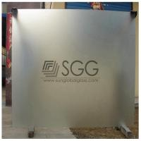 Wholesale clear acid etched glass panel 3mm 4mm 5mm 6mm 8mm 10mm 12mm 15mm 19mm from china suppliers