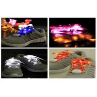 Wholesale Custom DJ Activity Party Flashing LED Light Up Shoelaces / Ribbon LED Shoe Strings from china suppliers