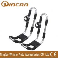 Wholesale car Top Mounted Rack Aluminum canoe Kayak Roof Carrier of aluminum frame T rack from china suppliers