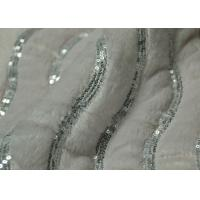 Wholesale Embroider Pv Plush Fabric For Wedding Dress 3.5-4.5 Color Fastness from china suppliers