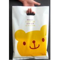Wholesale Multi Colors Durable Plastic Die Cut Bags For Shop / Supermarket from china suppliers