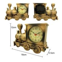 Buy cheap Fashion design train shape table clock for room decoration from wholesalers