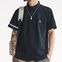 China Lightweight Breathable Polo Shirts Custom Made Casual Style Quick Dry on sale