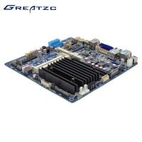 Wholesale DC 12V-19V Power Industrial PC Motherboard , Bay Trail Fanless Mini ITX Motherboard from china suppliers