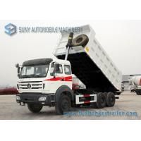 Buy cheap Beiben 2 Axles Heavey  Dump Garbage Truck 6x4  20ton Capacity North Benz Chassis from wholesalers