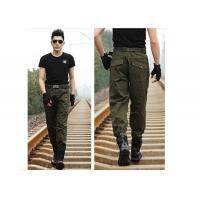 Wholesale Comfortable Long Style Military Army Green Skinny Cargo Pants For Man from china suppliers